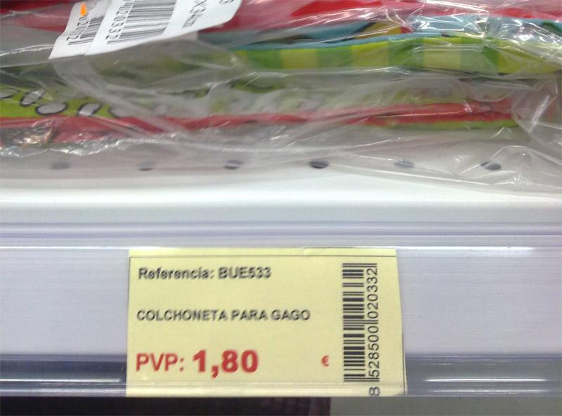 Colchoneta para Gago