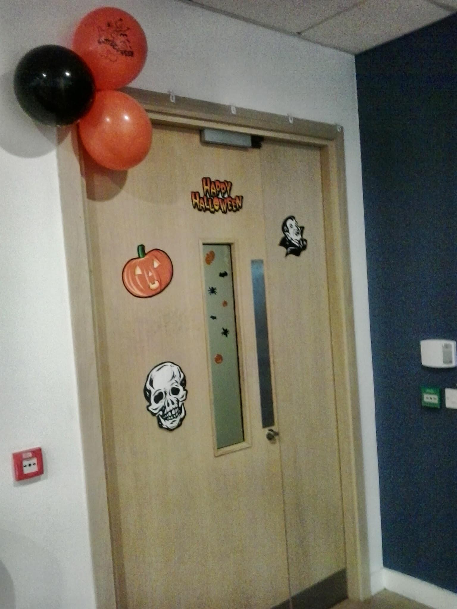 Halloween en la oficina