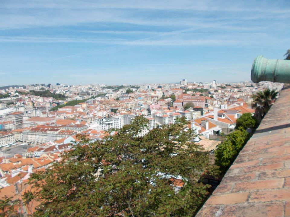 Lisboa desde el Castelo de São Jorge